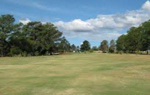 Trockenheit Golfplatz