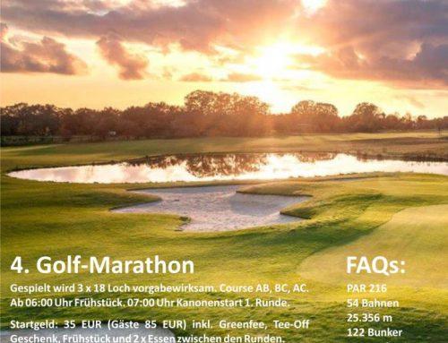 Soweit die Füße tragen – 4. Golfmarathon im GCV